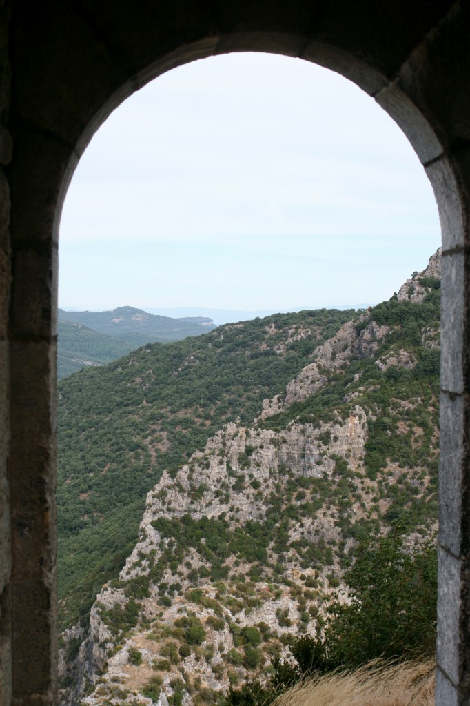 the view of cathar country